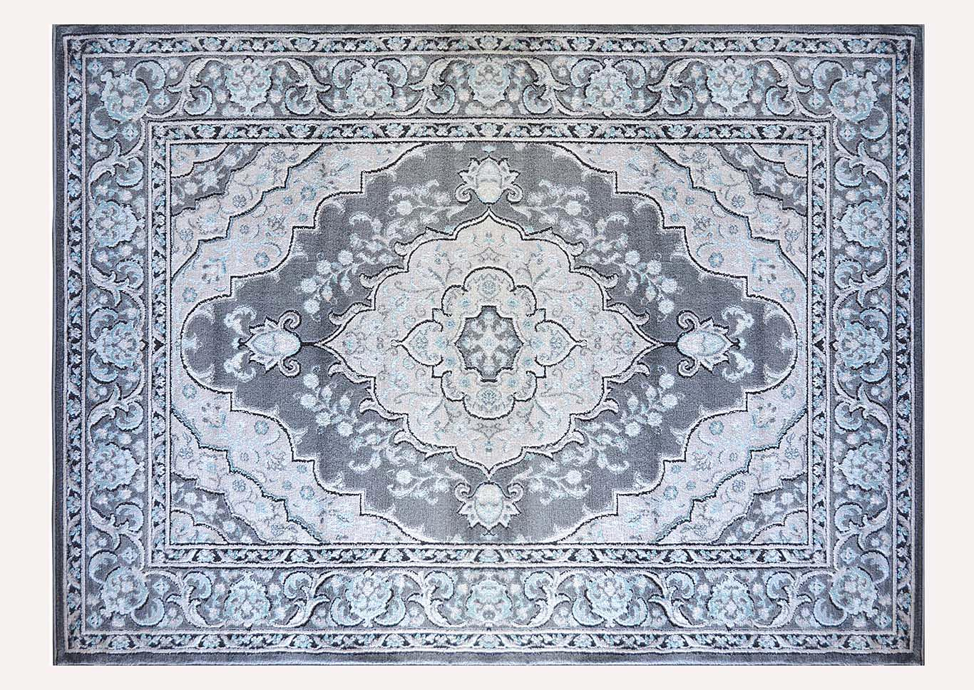 "Oxford Gray Area Rug 7'10"" x 10'2"",Home Dynamix"