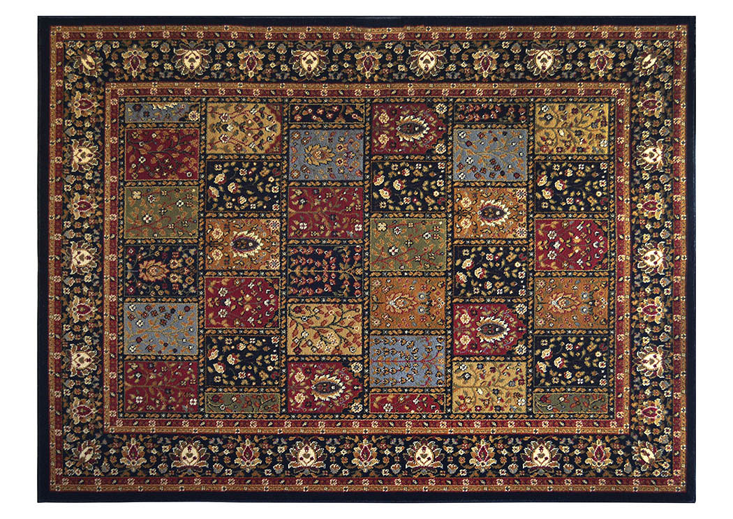 "Royalty Black Rug 43""X62"",Home Dynamix"