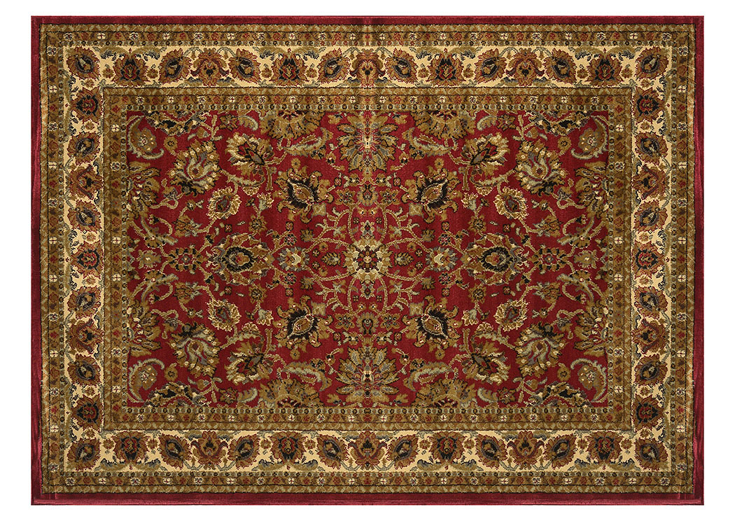 "Royalty Red Rug 7'8"" X 10'4"",Home Dynamix"