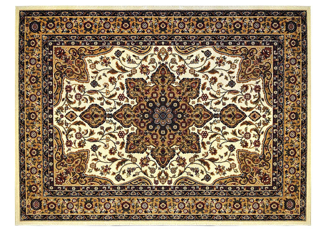 "Royalty Ivory Rug 7'8"" X 10'4"",Home Dynamix"