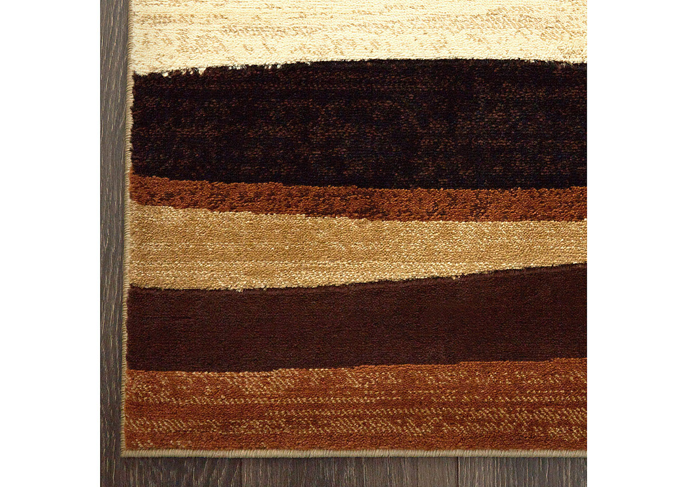 Home Dynamix Tribeca Jayden Contemporary Area Rug 39 X55 Striped Brown Beige Black Renaissance Philadelphia Pa