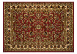 "Royalty Red Rug 7'8"" X 10'4"""