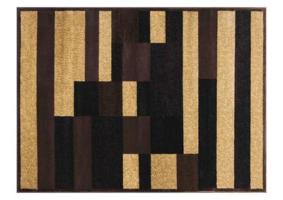 "Home Dynamix Royalty Kace Traditional Area Rug 19.6""x31.5"" Damask Brown/Beige"