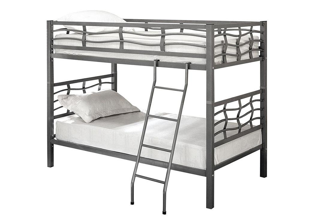 Silver Bunk Bed Bob S Discount House
