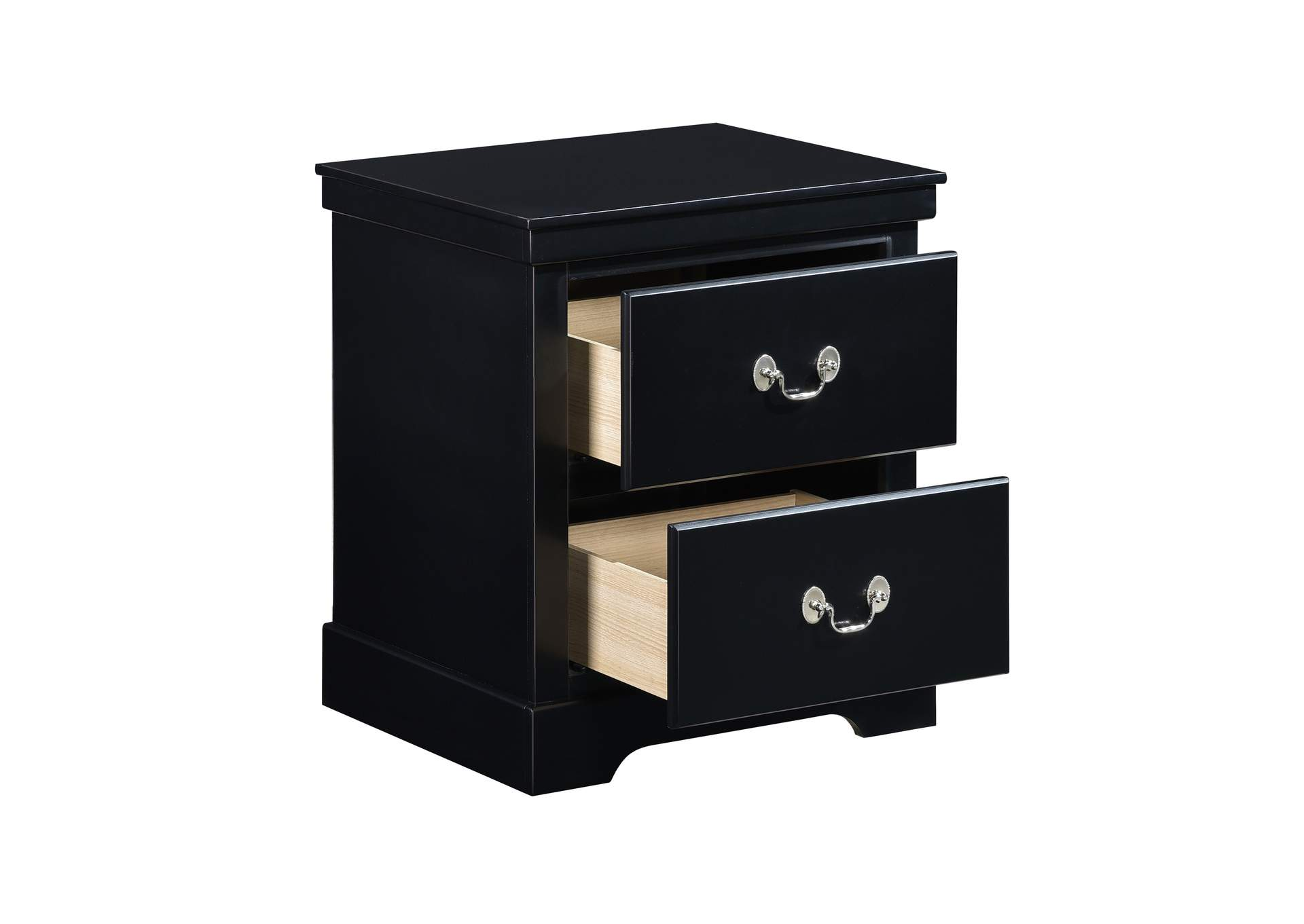 Black Night Stand,Homelegance