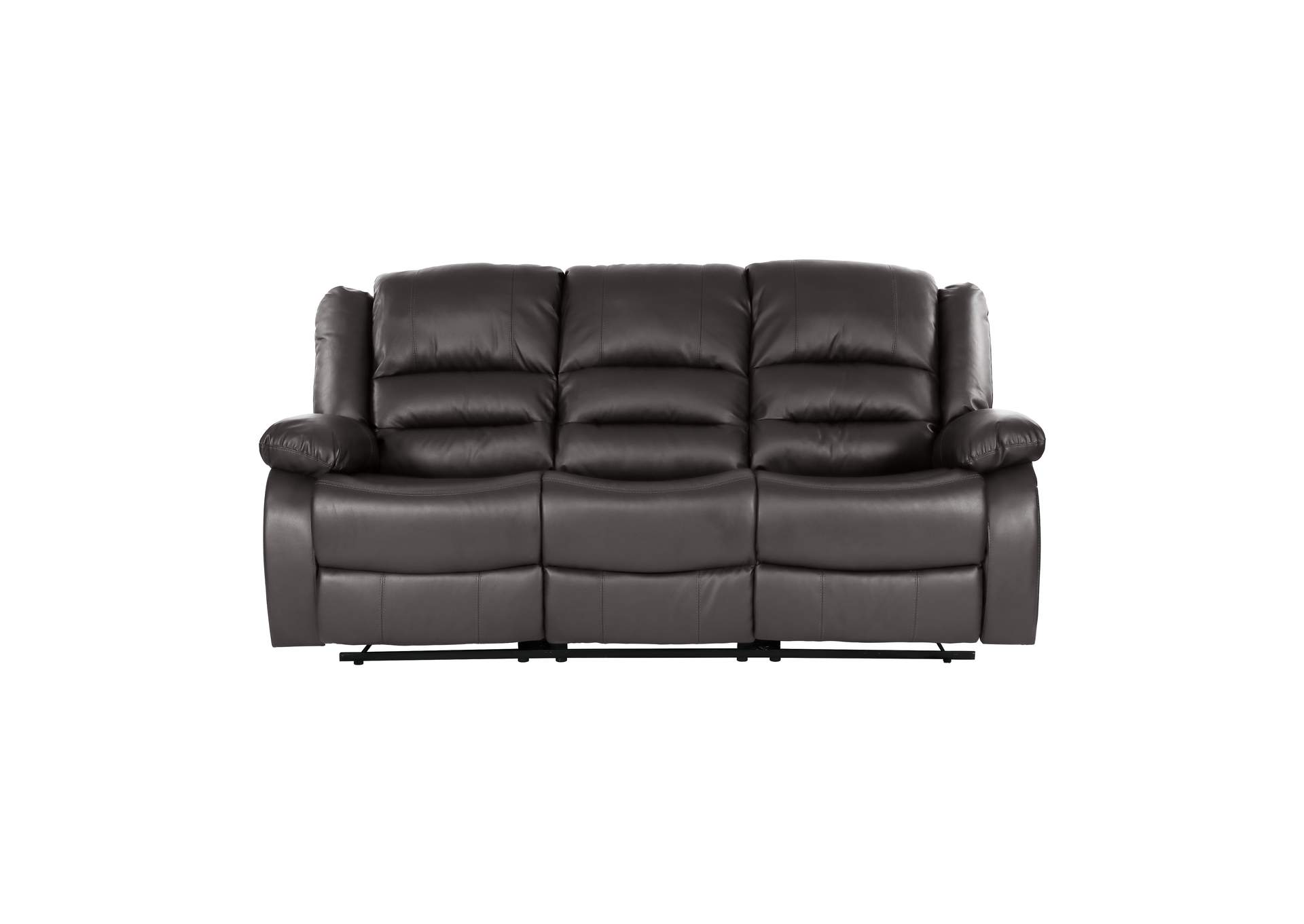 Brown Double Reclining Sofa,Homelegance