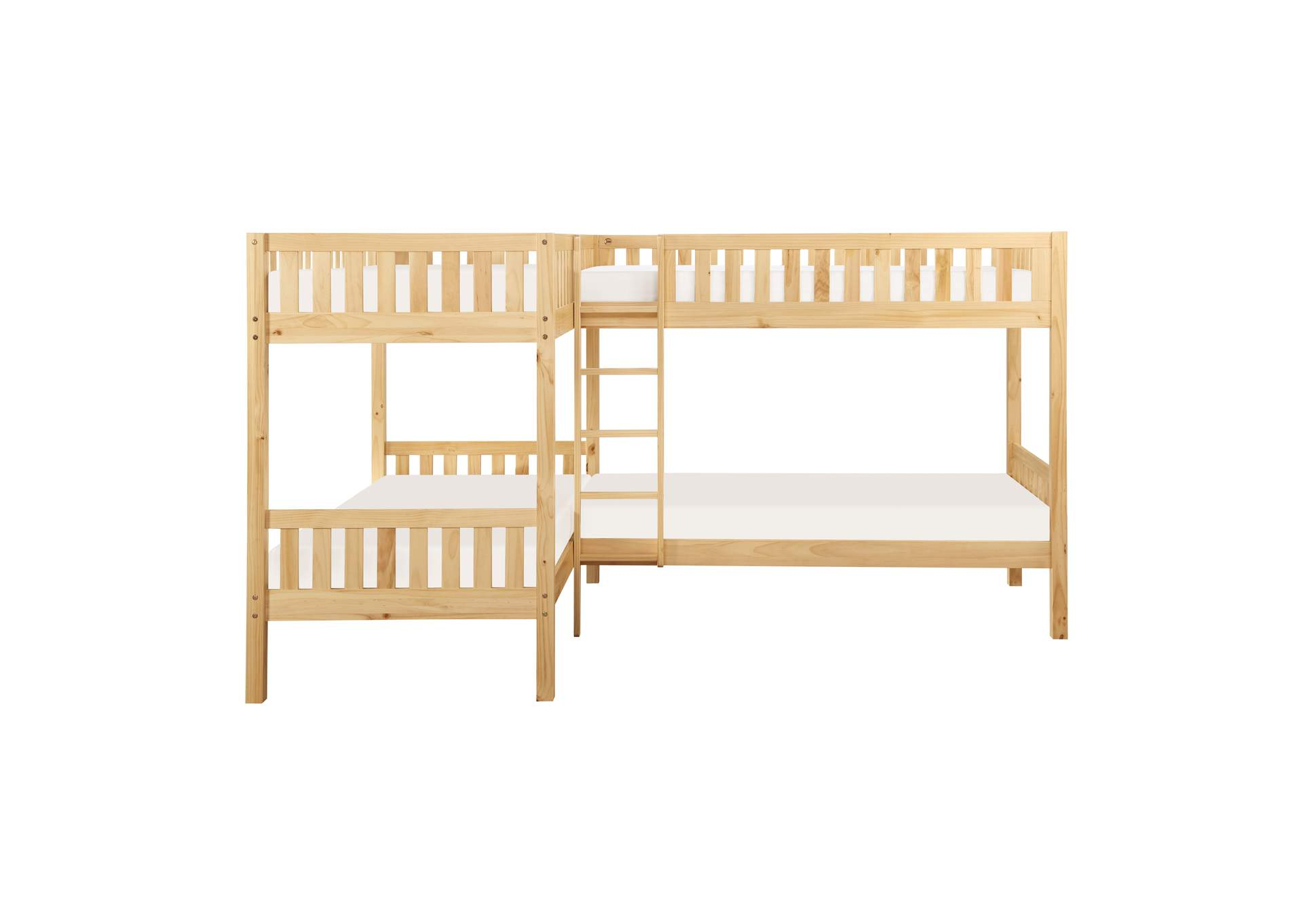 Bartly Corner Bunk Bed Dimensional Furniture Outlet
