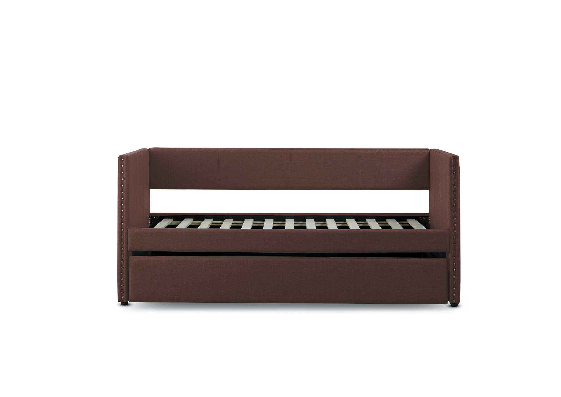 Therese Chocolate Daybed W/ Trundle,Homelegance