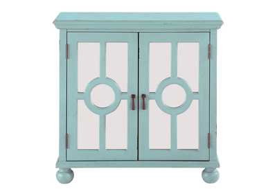 Image for Light Aqua Accent Chest