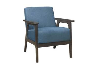Image for Blue Accent Chair