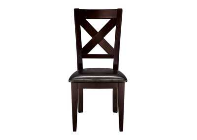 Image for Brown Side Chair [Set of 2]