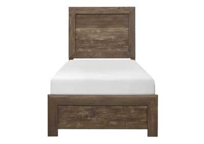 Image for Brown Twin Bed in a Box