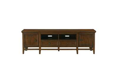 Image for Frazier Park Brown Cherry TV Stand