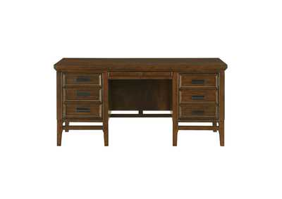 Frazier Park Cherry Executive Desk
