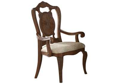 Brown Arm Chair [Set of 2],Homelegance