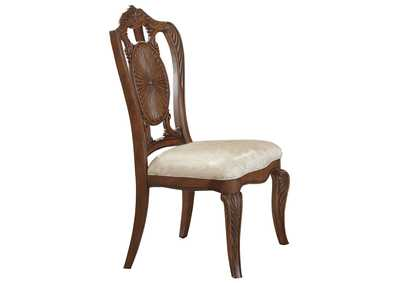 Brown Side Chair [Set of 2],Homelegance