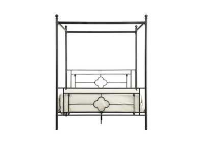 Image for Hosta Black Queen Canopy Platform Bed