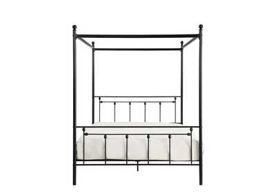 Image for Chelone Black Queen Canopy Platform Bed