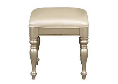 Image for Antoinetta Bronze Vanity Stool