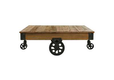 Image for Factory Brown Cocktail Table