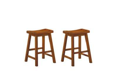 Image for Oak 24 Counter Height Stool [Set of 2]