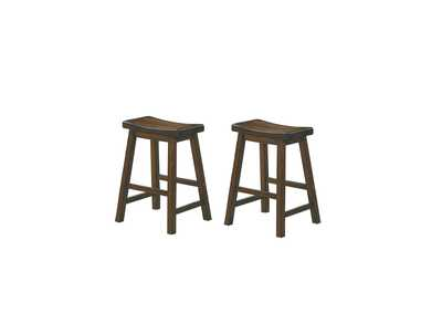 Image for Brown 24 Counter Height Stool [Set of 2]