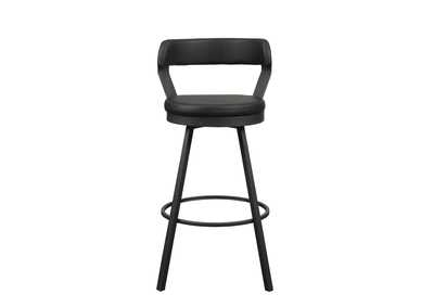 Image for Black Swivel Pub Height Chair [Set of 2]