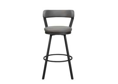 Image for Gray Swivel Pub Height Chair [Set of 2]