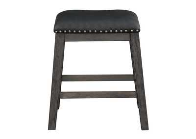Image for Black Counter Height Stool [Set of 2]