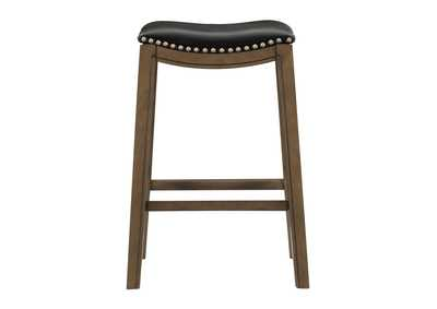 Image for Black 29 Pub Height Stool, Black