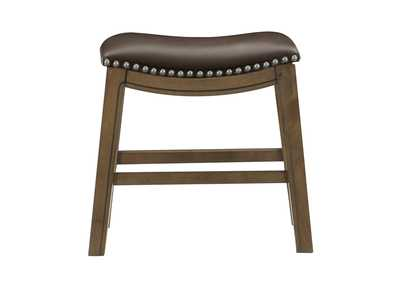 Image for Brown 18 Dining Stool, Brown