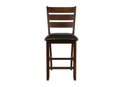 Image for Black Counter Height Chair [Set of 2]
