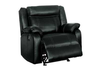 Black Glider Reclining Chair,Homelegance