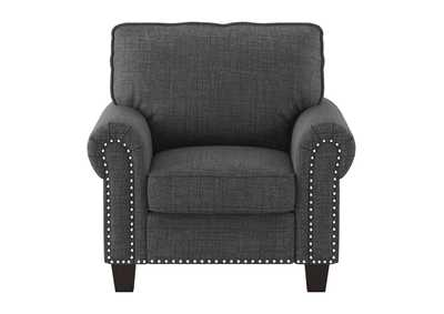 Dark Gray Chair,Homelegance