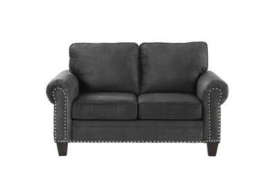 Dark Gray Love Seat,Homelegance