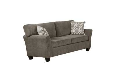 Brown Gray Love Seat,Homelegance
