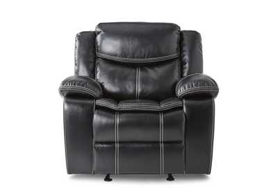 Image for Black Glider Reclining Chair