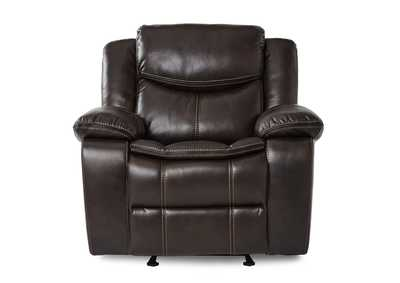 Image for Brown Glider Reclining Chair