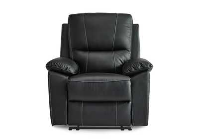 Black Reclining Chair,Homelegance