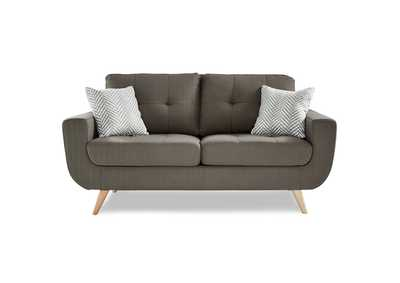 Gray Love Seat,Homelegance