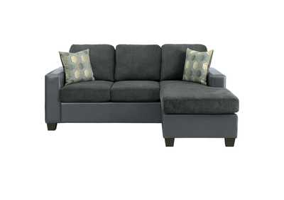 Image for Grey Reversible Sofa Chaise