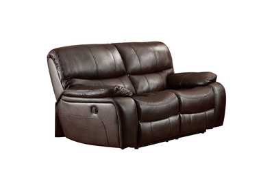 Image for Dark Brown Power Double Reclining Love Seat