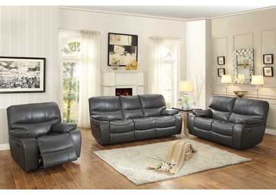 Gray Double Reclining Sofa,Homelegance