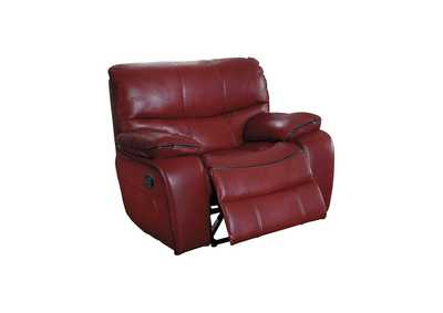 Red Glider Reclining Chair,Homelegance