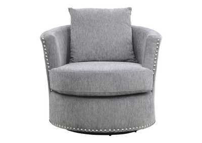 Image for Morelia Dark Gray Swivel Chair