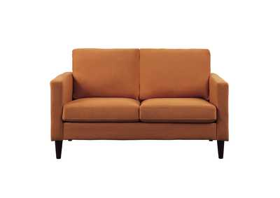 Image for Orange Love Seat