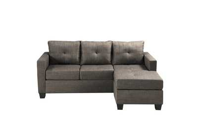 Image for Brown Reversible Sofa Chaise