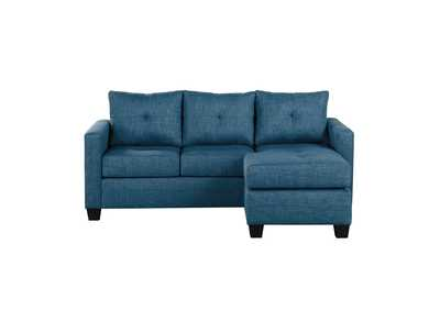 Image for Blue Reversible Sofa Chaise