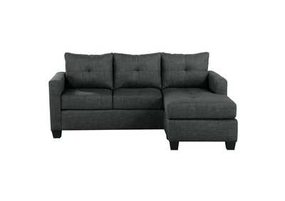 Image for Dark Gray Reversible Sofa Chaise