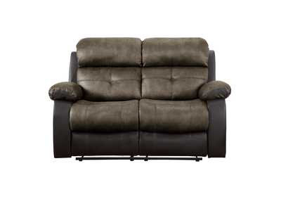 Image for Brown Double Reclining Love Seat